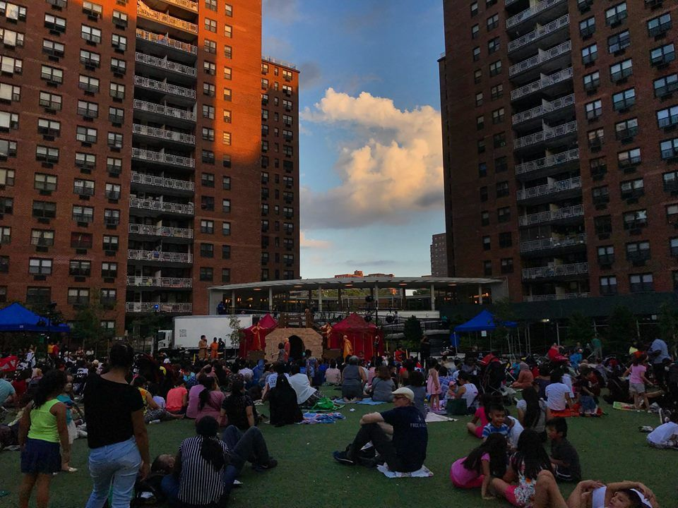 Shakespeare in the Park - an event at LeFrak City's Corona, Queens apartments