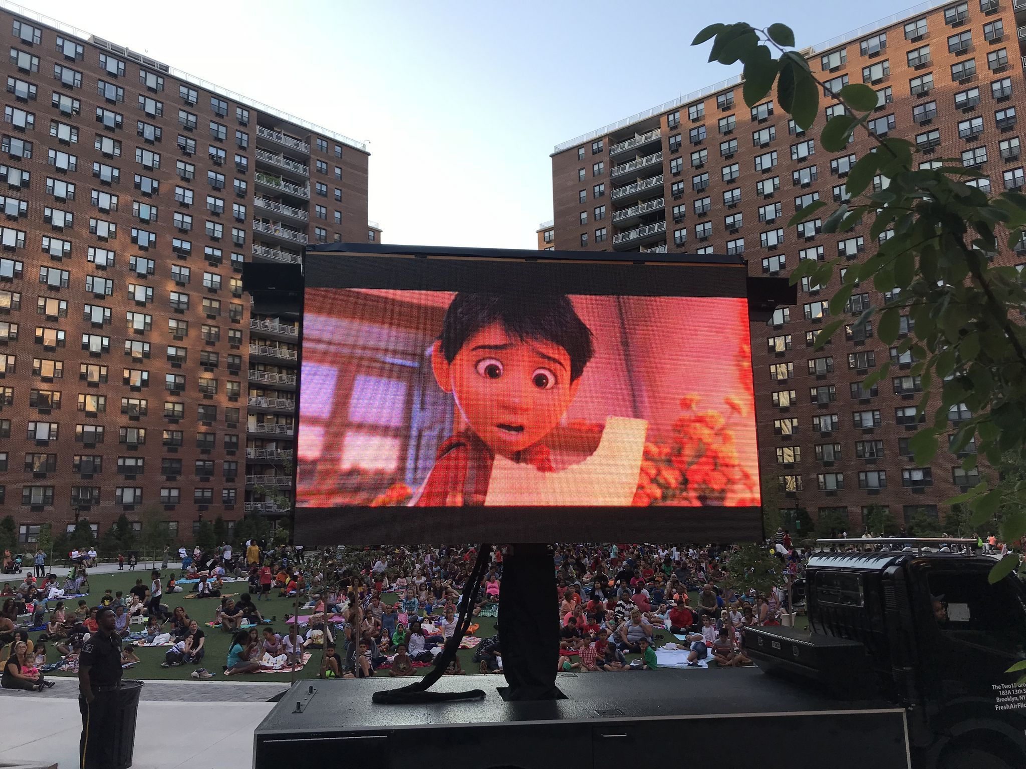 Coco - featured presentation during LeFrak City's Movie Nights