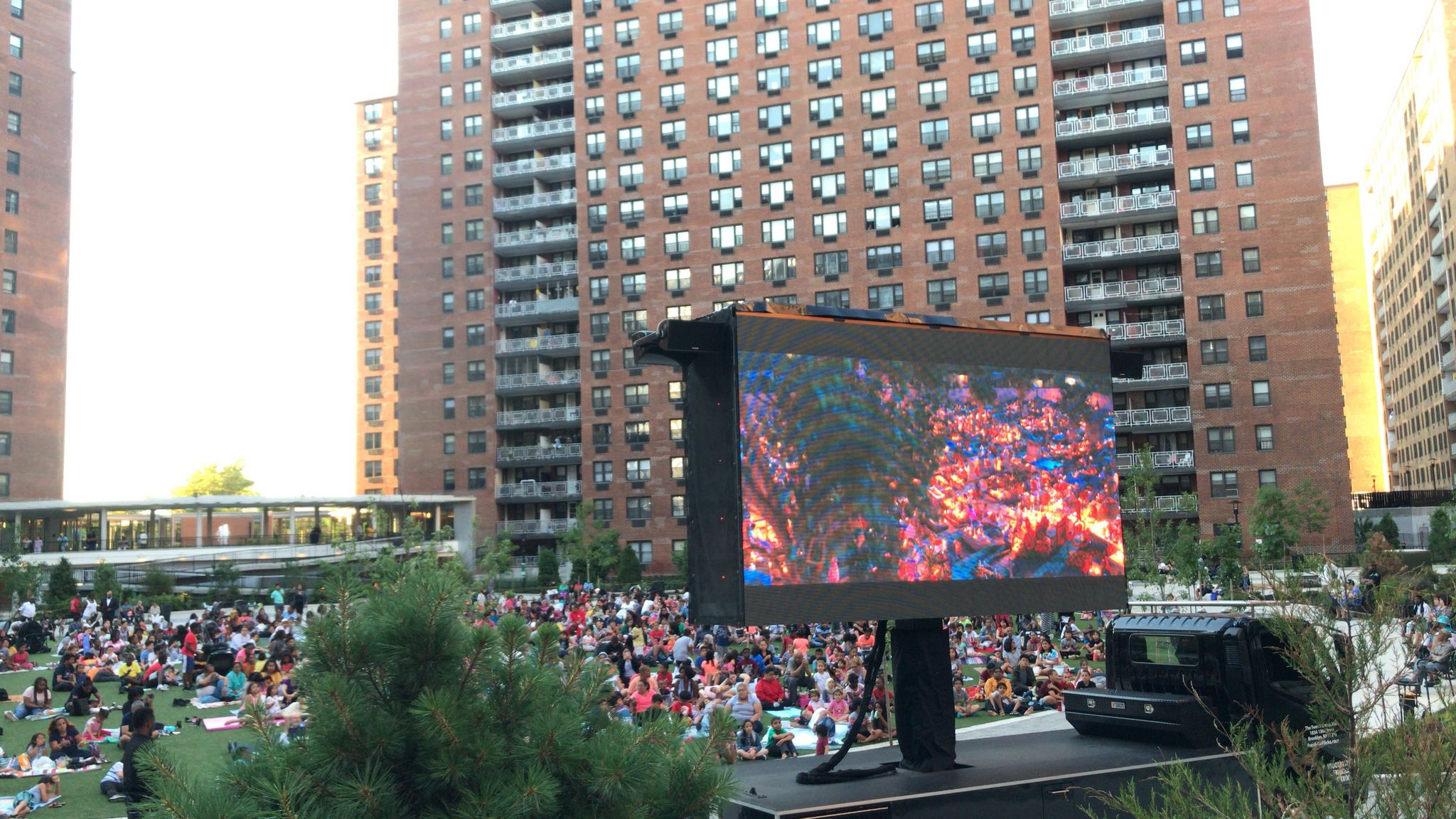 LeFrak City's amazing movie nights