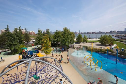 multiple playgrounds throughout Newport Apartment Rentals NJ