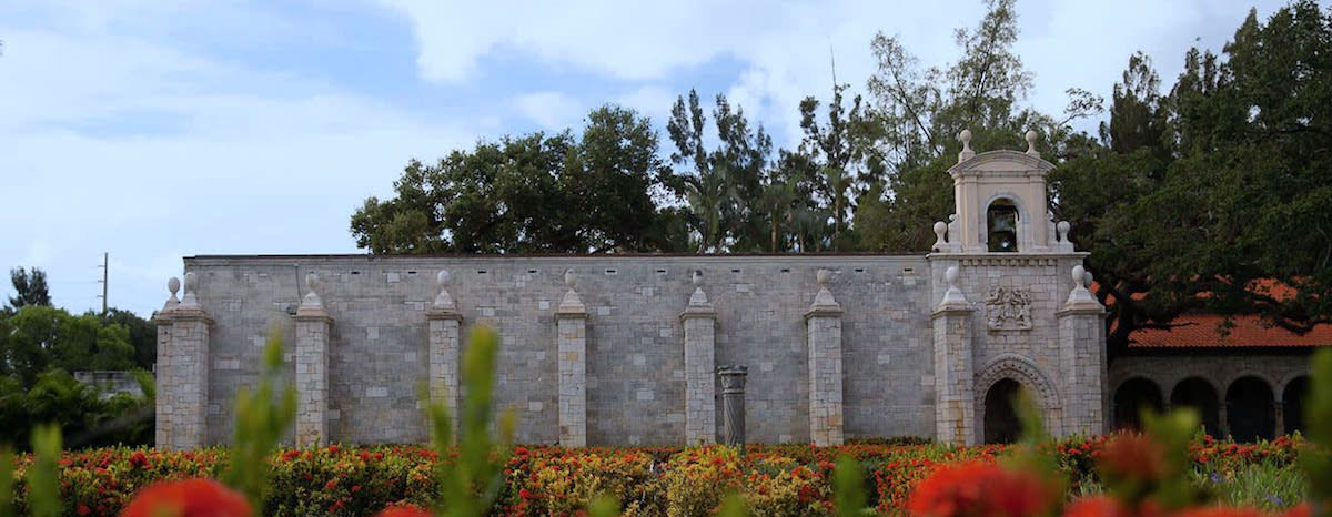 Ancient Spanish Monastery near The Shoreline at Solé Mia Apartments in North Miami