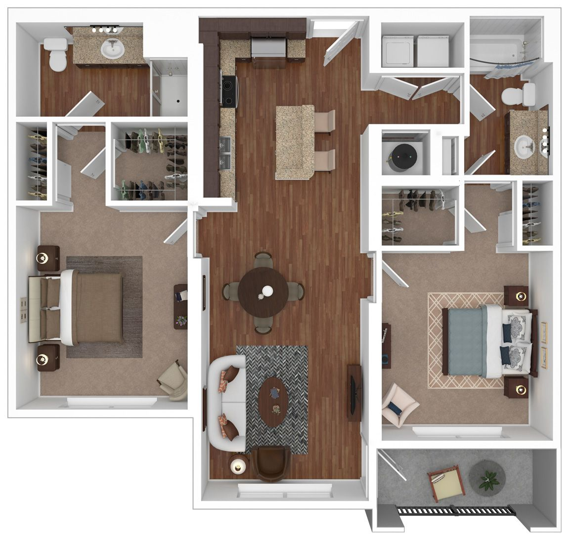 The Couture Floorplan