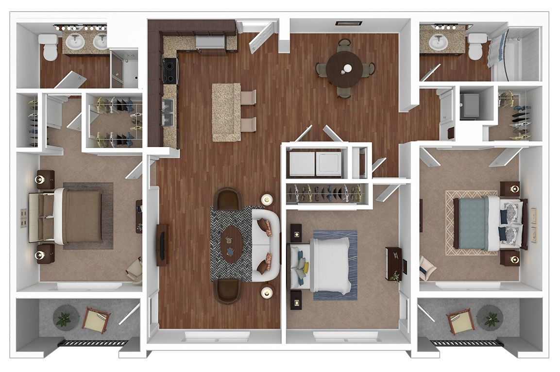 The Outre Floorplan