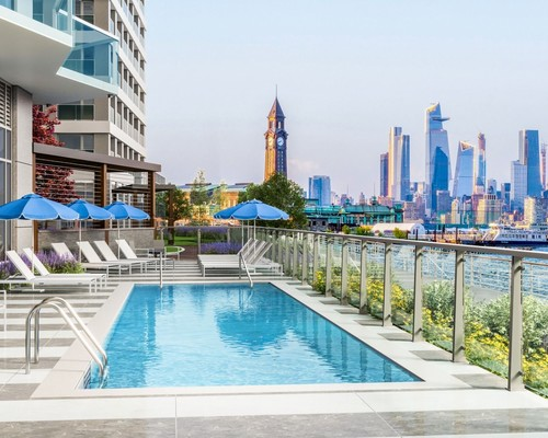 Waterfront Outdoor Pool