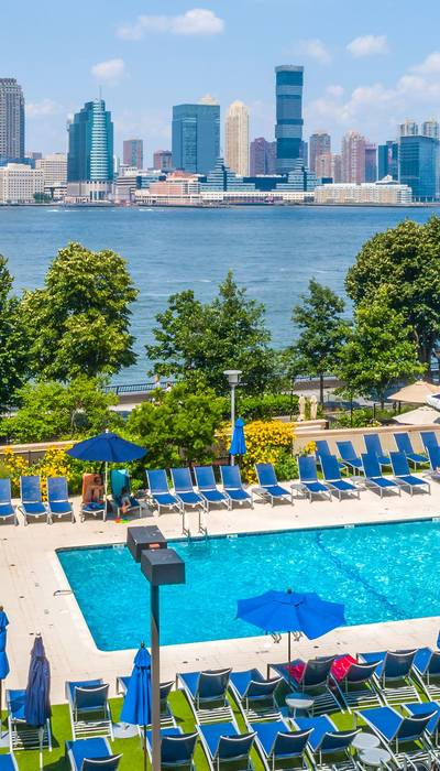 Private outdoor pool Gateway Battery Park City Apartments Manhattan, New York