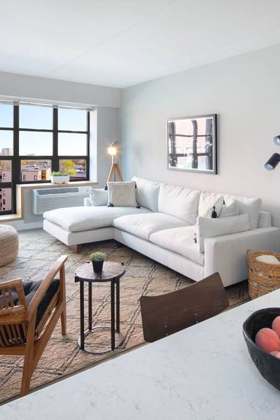 Dining and Living Area of Revetment House - Hamilton Park Luxury Apartments in Jersey City