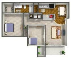 1 Bedroom / 1 Den / 1 Bath